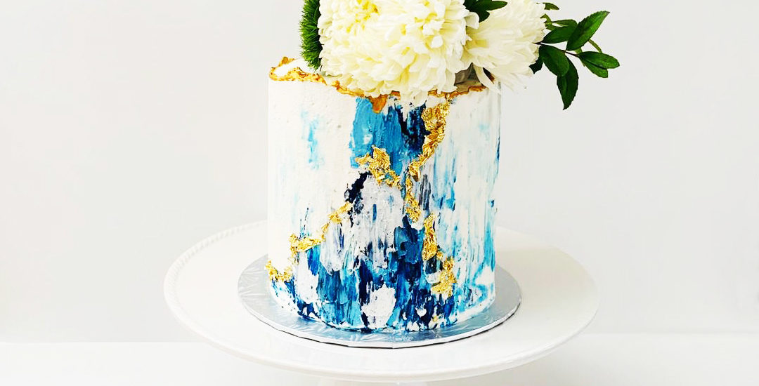 Abstract Buttercream Cake | Annie's Cakes baker in Edmonton, AB